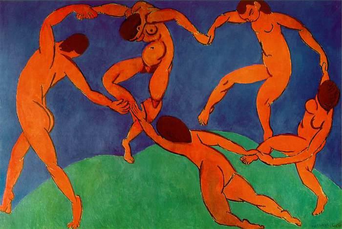 La Danse. Henri Matisse, 1910. | Фото: img0.liveinternet.ru.