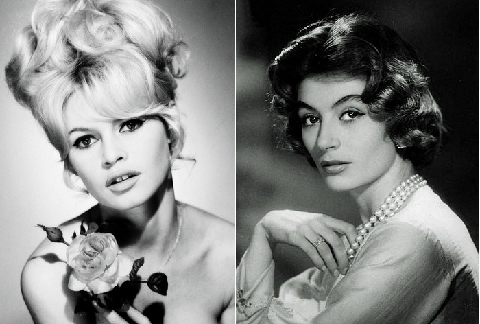 Французские секс-символы эпохи 50-60х годов.