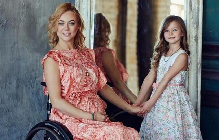 Ксения Безуглова - обладательница титула «Мисс мира-2013» среди девушек на инвалидных колясках.