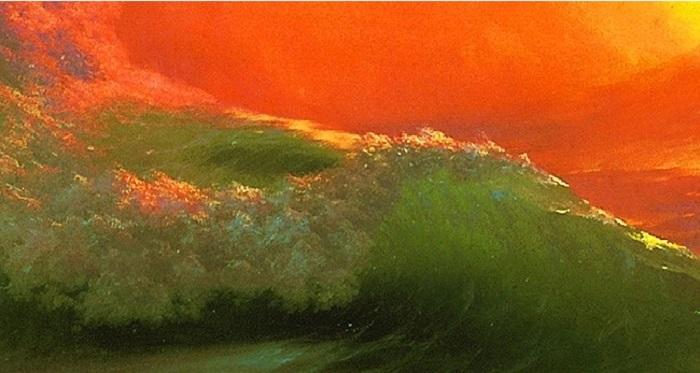 «Девятый вал», И. Айвазовский. Фрагмент. | Фото: abinform.ru.