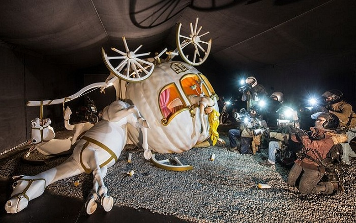 Выставка, организованная андеграундным художником Banksy.
