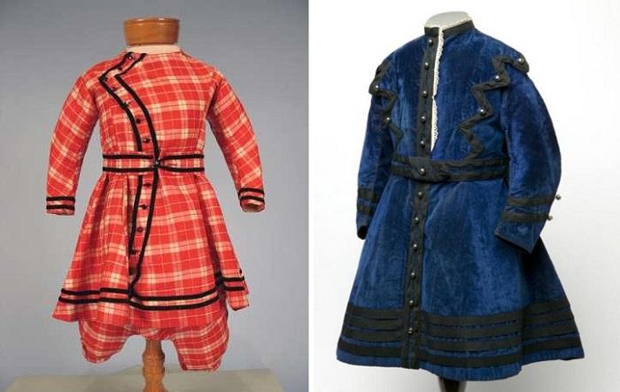 Платья для мальчиков 19 века.