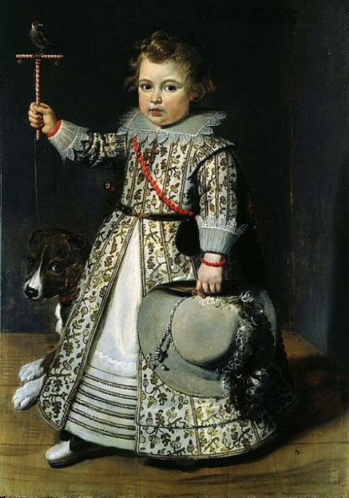 Фламандский мальчик в платье. 1625 г. | Фото: oddities123.com.