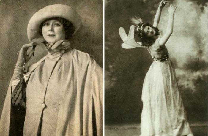 Американская танцовщица-новатор Айседора Дункан.