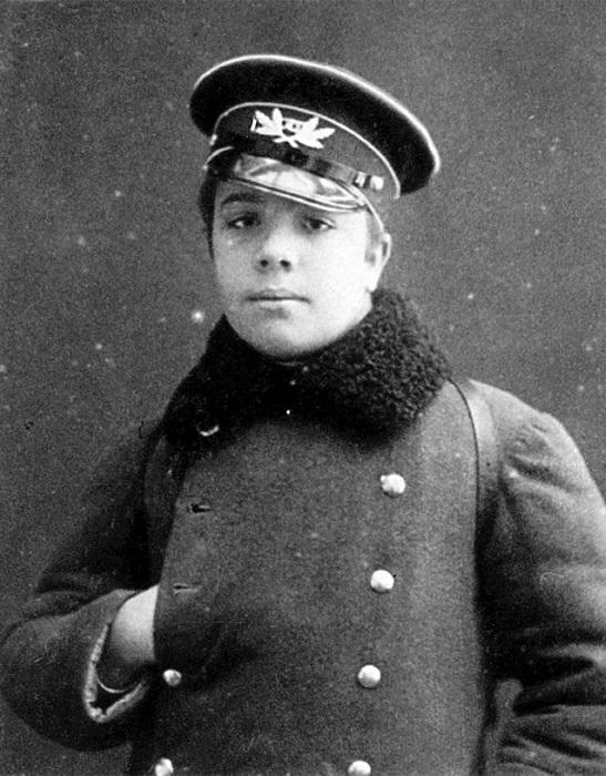 Сергей Дягилев в юные годы. | Фото: bookz.ru.