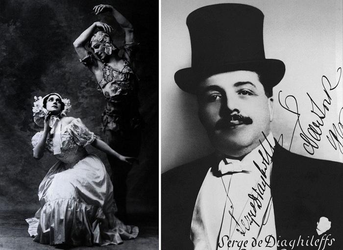 Известный импресарио начала ХХ века Сергей Дягилев.