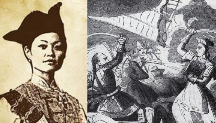 Чжэн Ши - женщина, командовавшая 1500 пиратских кораблей.