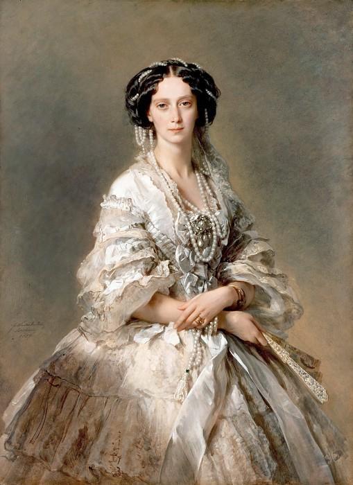 Портрет императрицы Марии Александровны. 1857 г.