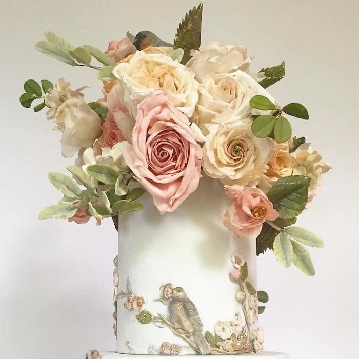 Букет сладких роз. | Фото: mymodernmet.com.