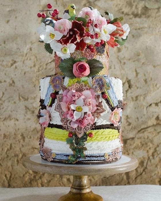 Уникальный торт от Мэгги Остин. | Фото: mymodernmet.com.