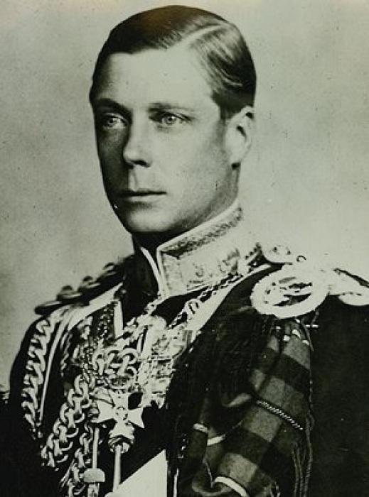 Эдуард VIII - король Великобритании в период с 20 января по 11 декабря 1936 года.   Фото: chatafrik.com.