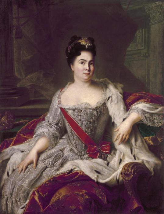 Портрет Екатерины I. Ж.-М. Натье, 1717 год. | Фото: livemaster.ru.