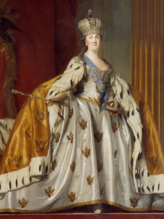 Екатерина 2 свадебное платье