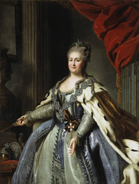 Российская императрица Екатерина II. | Фото: peterburg.center.