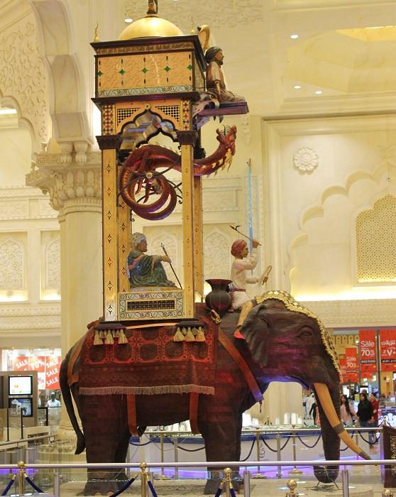 Копия Слоновых часов. | Фото: flickr.com.