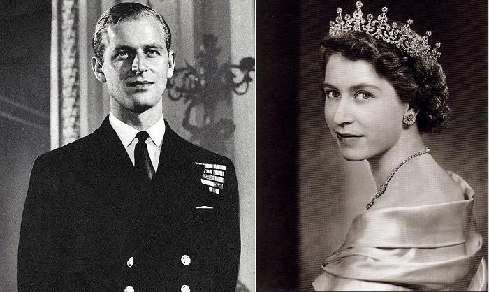 Принц Филипп, герцог Эдинбургский и королева Елизавета II. | Фото: ilarge.lisimg.com.