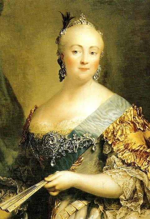 Елизавета Петровна - российская императрица. | Фото: yavshoke.net.