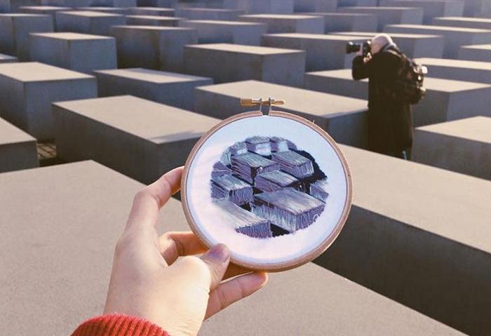 Работа дизайнера Teresa Lim.