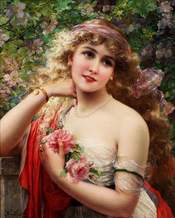Весна. Э. Вернон, 1913 год. | Фото: fiveminutehistory.com.