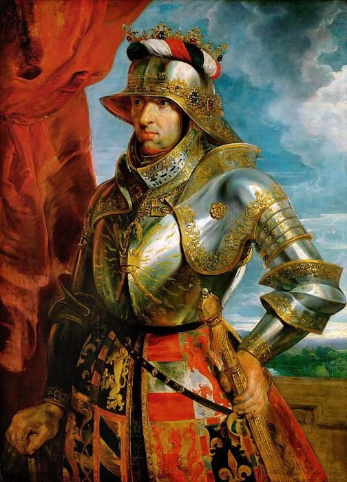 Портрет императора Максимилиана I. Питер Пауль Рубенс, около 1618. | Фото: fineartamerica.com.