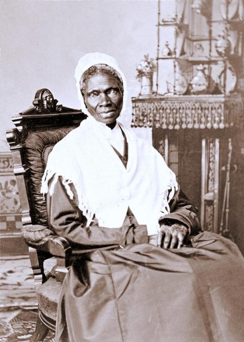 Соджорнер Трут - борец за права бывших рабов в Америке.