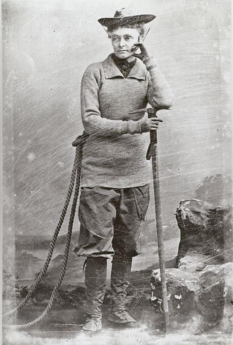 Энни Смит Пек - прославленная женщина-альпинист.