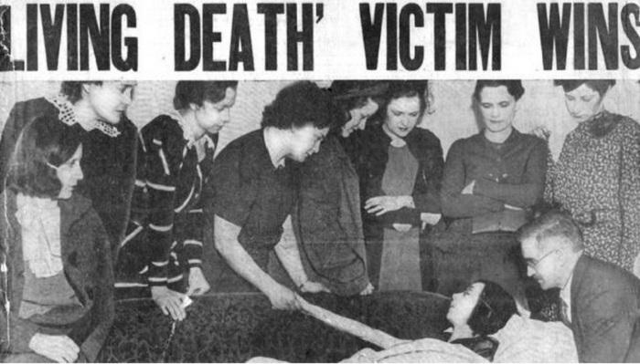 Заметка о «живых мертвецах»: работницах, подвергшихся радиации.