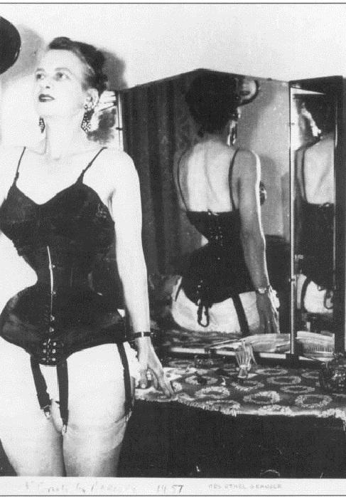 Ethel Granger - женщина с талией в 33 см.   Фото: pinterest.com.