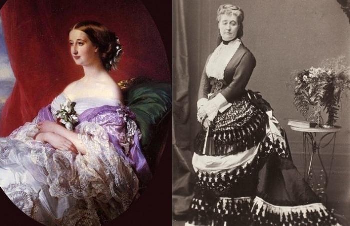 Французская императрица Евгения - любительница нарядов Чарльза Ворта.