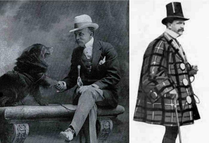 Эвандер Берри Уолл - «король пижонов» конца XIX века-начала ХХ вв.