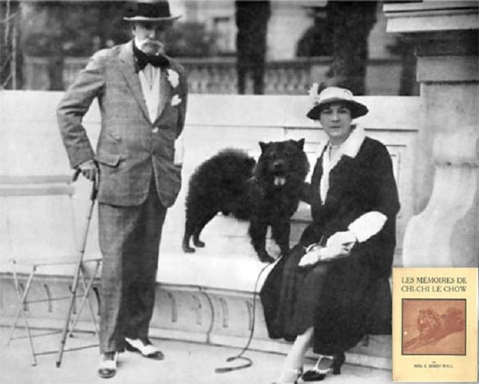 Эвандер Берри Уолл со своей супругой, 1920-е гг. | Фото: newyorksocialdiary.com.