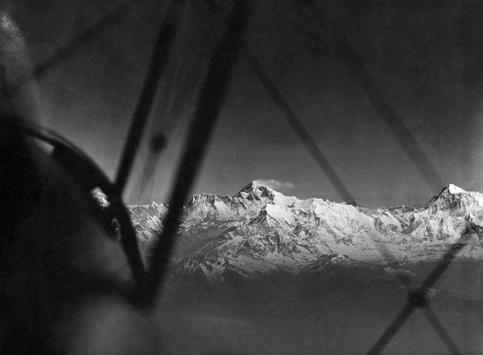 Возле вершины Эвереста.