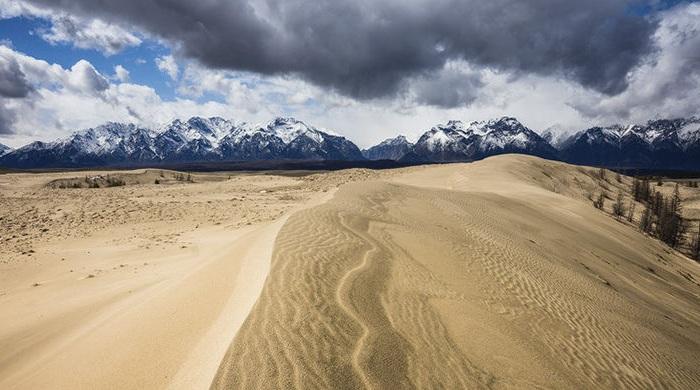 Каркросс - самая маленькая пустыня в мире.