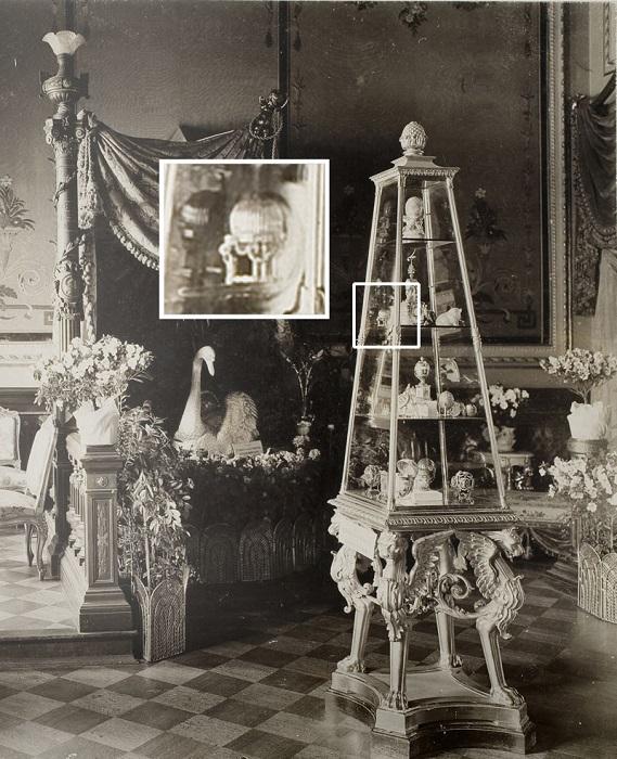 Выставка в особняке фон Дервиза, Санкт-Петербург, 1902 год.   Фото: jewellerymag.ru.