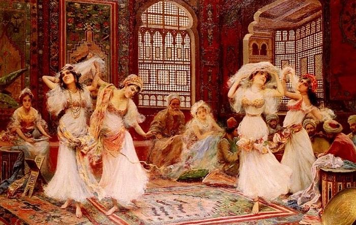 Восточные князья сами продавали дочерей в гарем.
