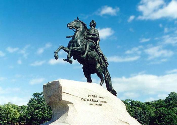 Памятник Петру I. Этьен Фальконе, 1768–1770 гг. | Фото: files.smallbay.ru.