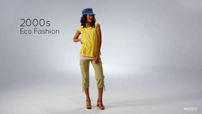 Носить экологически чистую одежду - очень модно.