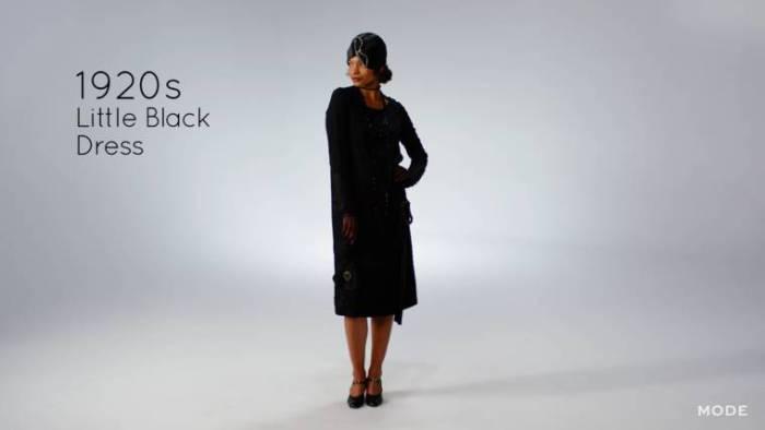 В 1920-х длина платья значительно укоротилась.