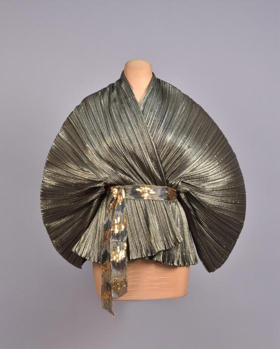 Блуза-кимоно металлик от Giorgio Sant'angelo.1970-е.