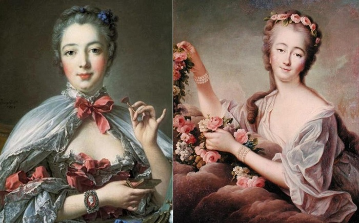Фаворитка французского короля Людовика XV.