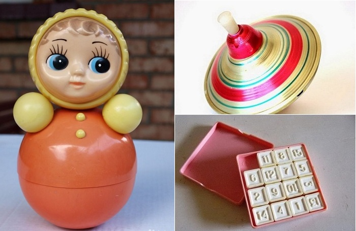 Любимые советские игрушки.