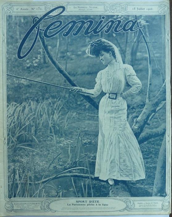 Обложка журнала «Femina».   Фото: messynessychic.com.