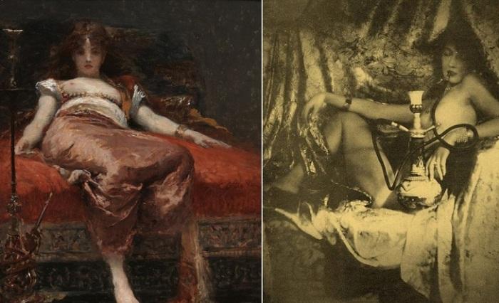 Курильщицы опиума в XIX веке.