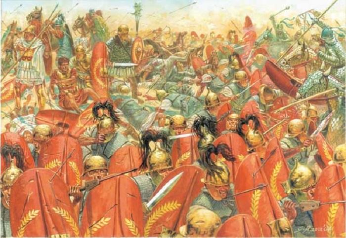 Битва при Каррах (53 год до н. э.) | Фото: gatesofnineveh.files.wordpress.com.