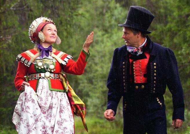В Финляндии раньше девушки носили пустые ножны, а потенциальные женихи вставляли в них ножи. | Фото: tulaguide.ru.