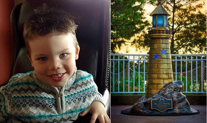 «Маяк надежды»: Памятник 2-летнему мальчику, погибшему от нападения аллигатора