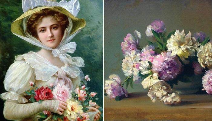 Язык цветок - секретный код любви в викторианскую эпоху. | Фото: fiveminutehistory.com.