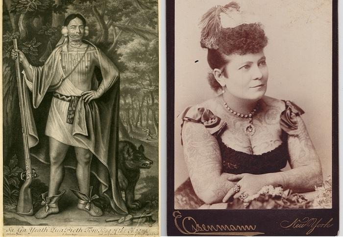 Фотографии с выставки «Tattooed New York».