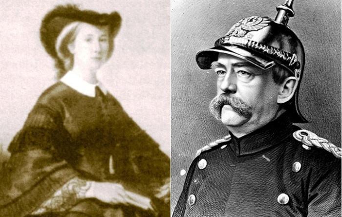 Екатерина Орлова и Отто фон Бисмарк.