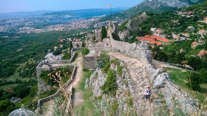 Крепость Клис, Хорватия. | Фото: quibbll.com.